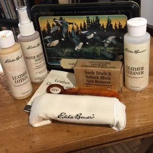 EDDIE BAUER LEATHER CLEANING AND CARE KIT